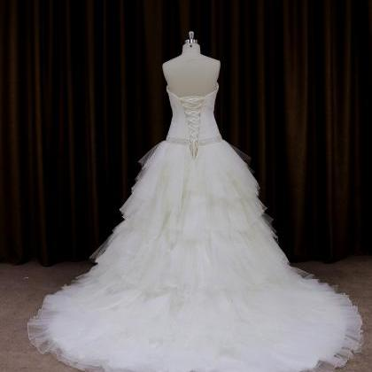 Tulle Sweetheart Ball Gown Wedding ..